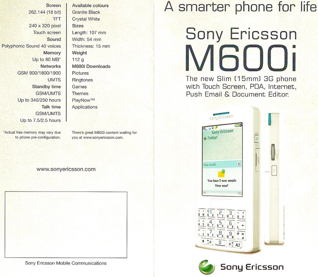 sony ericsson essay Case study: sony ericsson mobile music strategy this is a preview of the 7-page  document read full text this rendered the product a failure in the market.