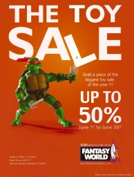 Fantasy World – Toy Sale - فانتاسي ورلد - ألعاب