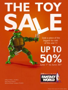 Fantasy World - Toy Sale - فانتاسي ورلد - ألعاب