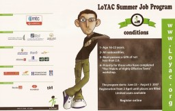 LoYAC Summer Job Program - لوياك