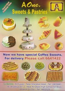 A One Sweets & Pastries - أي ون للحلويات والمعجنات