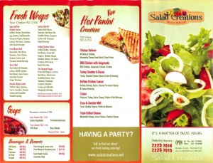 Salad Creations - Fresh is Fabulous - سالاد كريشنز - الطازج رائع