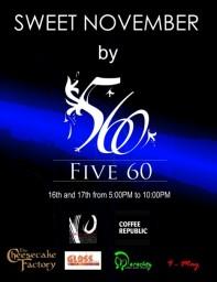 Five60: Sweet November - فايف سكستي
