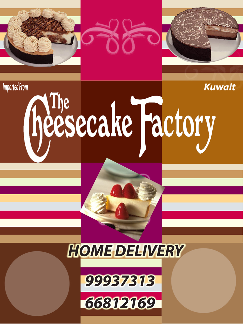The Cheesecake Factory Kuwait Paper Dump