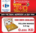 Carrefour: 20th May - Mangoes - كارفور