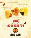 Genki Sushi Breakfast - إفطار جنكي سوشي