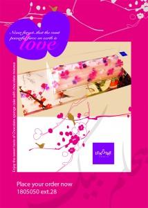 LeNotre - Valentines Cake - لونوتر