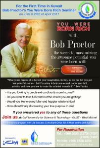 Bob Proctor's Seminar at GUST - بوب بروكتر