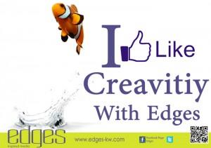 I Like Creativity - Edges Media - ادجس ميديا : انا احب الفن